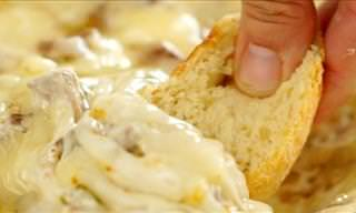 Mouthwatering Philly Cheese Steak Dip