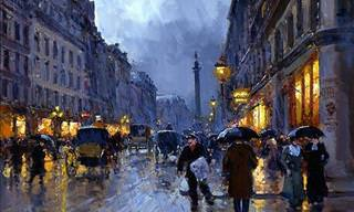 The Stunning Parisian Paintings of Edouard Cortes