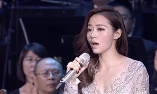 This Chinese Singer's Vocal Range Will Astound You!