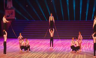 This Rope Jumping Act Takes it to an Entirely New Level