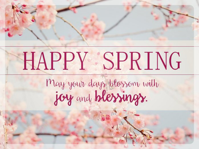 Send Some Spring Wishes to Someone Dear
