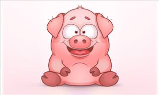 A Man Buys a Pig on a Farm