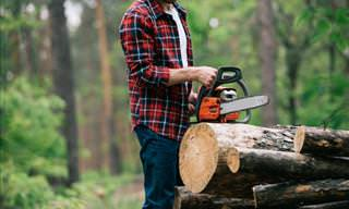 The Chainsaw and the Troublesome Customer