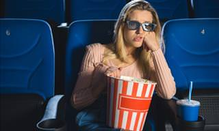 A Blond at the Cinema