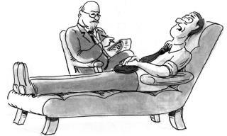 A Distraught Man Visits a Psychiatrist