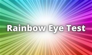 The Rainbow Eyesight <b>Test</b>