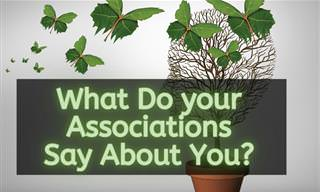 What Do Your Associations Reveal <b>About</b> Your Personality?