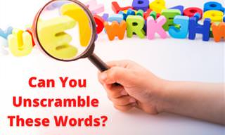 Can You Unscramble the Words in Time?