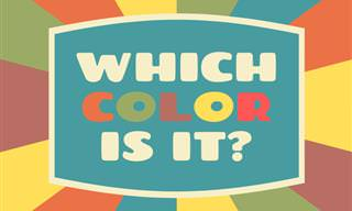 Can <b>You</b> Identify the Color?