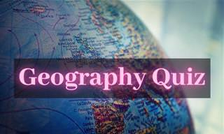 Can You Beat This <b>General</b> Geography Quiz?