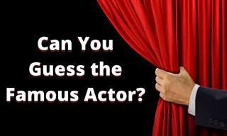 Which Actor IS IT?