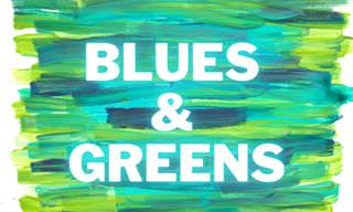 <b>Color</b> Quiz: From Blue to Green