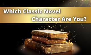 Which Famous Novel Character Are You?