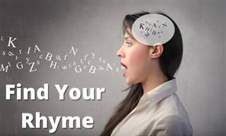 Choose a Rhyme and Learn <b>About</b> Yourself