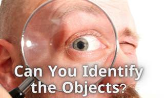 Do You Recognize These Objects?