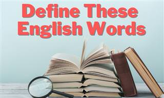 Define These English Words