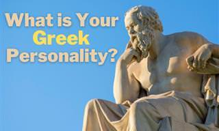 Find Out Who You Really Are According to the <b>Greeks</b>.