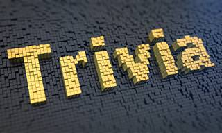 I Feel the Need.. For Some <b>Trivia</b>!