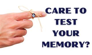 Test Your Memory Right Now!