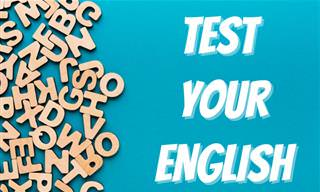 Test Your Vocabulary, Spelling and Grammar!