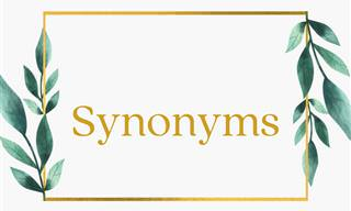 You Lose You're Out: Synonym Edition!