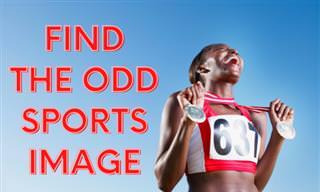 Find the <b>Odd</b> Sports <b>Photo</b>