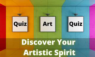 Choose <b>Art</b> to Discover Your Artistic Self